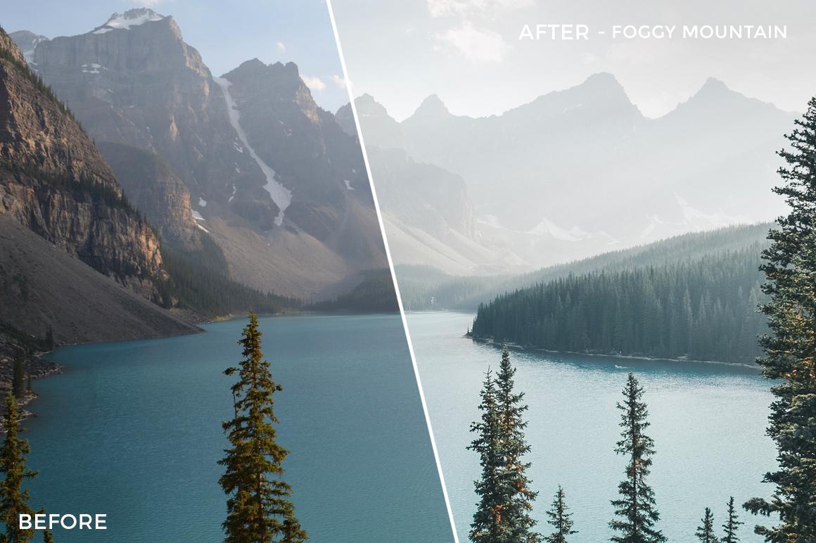 Foggy Mountain - Niklas Nxploring Lightroom Presets - FilterGrade