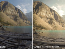 canadian sunset - Niklas Nxploring Lightroom Presets - FilterGrade
