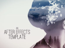 after effects template parallax effect titles