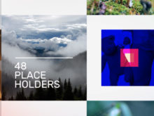 placeholders for photo and video after effects