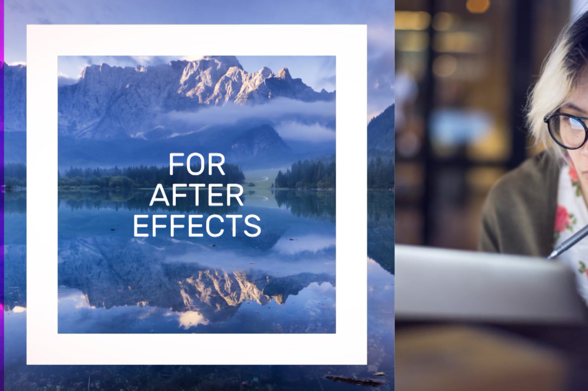 after effects presentation template