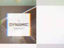 dynamic slideshow template for after effects