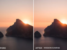 Mission Sunrise - Tim Kapffenstein Lightroom Presets - @the_camera_dude - FilterGrade