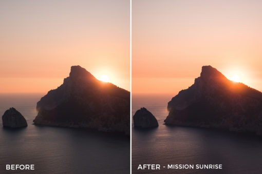 Mission Sunrise - Tim Kapffenstein Lightroom Presets - @the_camera_dude - FilterGrade