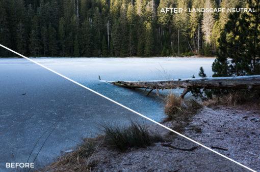 Landscape Neutral - Tim Kapffenstein Lightroom Presets - @the_camera_dude - FilterGrade