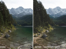 Landscape Faded - Tim Kapffenstein Lightroom Presets - @the_camera_dude - FilterGrade