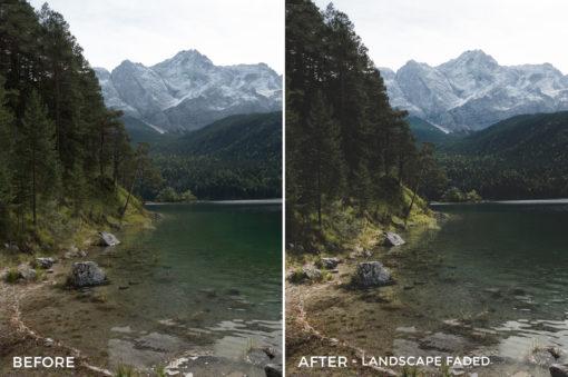 Landscape Faded - Tim Kapffenstein Lightroom Presets - @the_camera_dude - FilterGrade