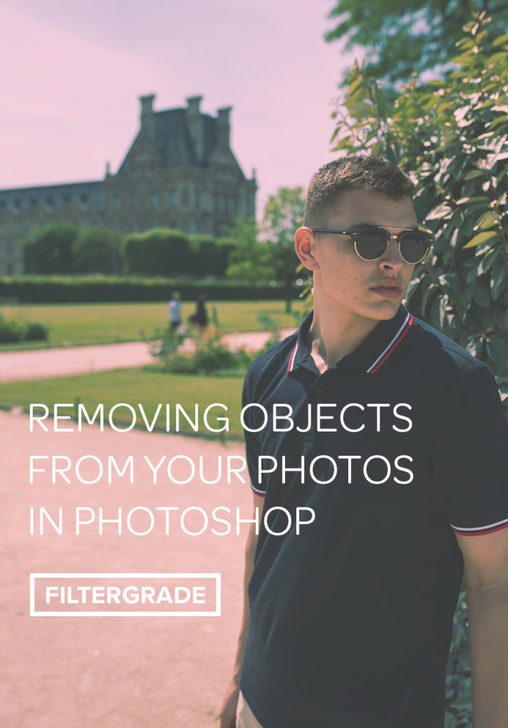 How to remove unwanted objects from your photos in Adobe Photoshop.