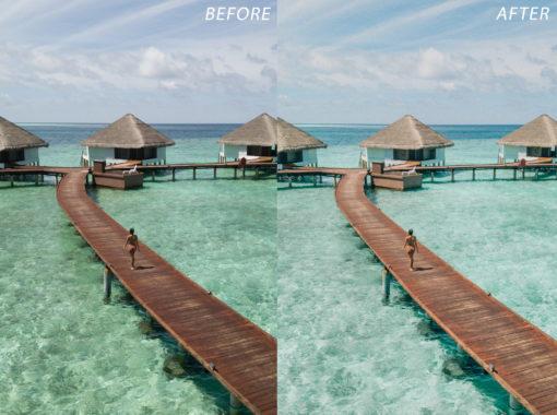 7 Escape Journal Maldives Lightroom Presets - FilterGrade