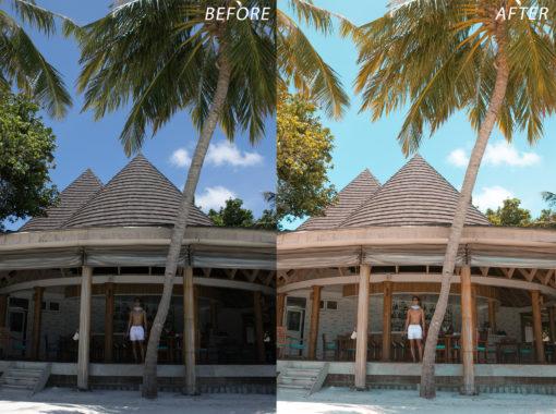 6 Escape Journal Maldives Lightroom Presets - FilterGrade