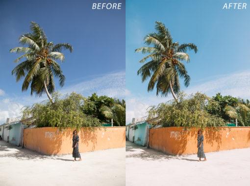 5 Escape Journal Maldives Lightroom Presets - FilterGrade