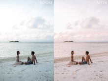 4 Escape Journal Maldives Lightroom Presets - FilterGrade