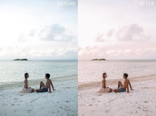 4 Escape Journal Maldives Lightroom Presets - FilterGrade