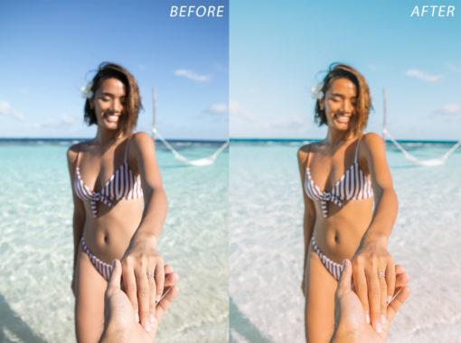 2 Escape Journal Maldives Lightroom Presets - FilterGrade
