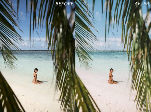 Escape Journal Maldives Lightroom Presets - FilterGrade