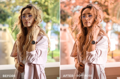 10 Soft Rose - Kim Rose Lightroom Presets - FilterGrade