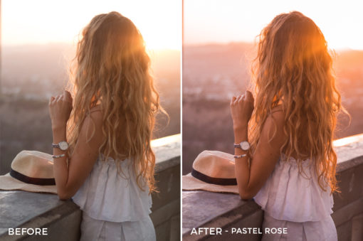 8 Pastel Rose - Kim Rose Lightroom Presets - FilterGrade