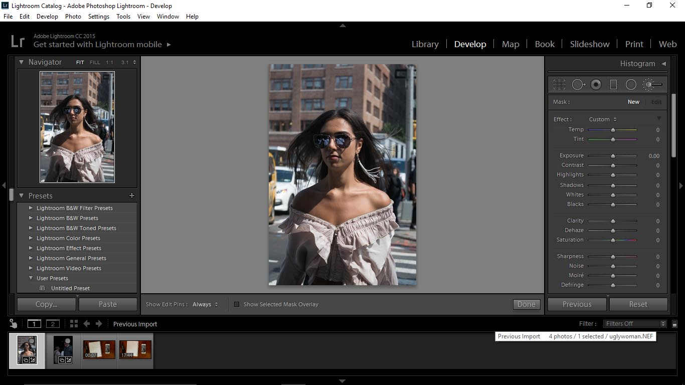 1 Using Adobe Lightroom to Create Custom Brushes - FilterGrade