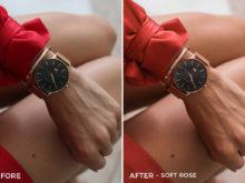 6 Soft Rose- Kim Rose Lightroom Presets - FilterGrade