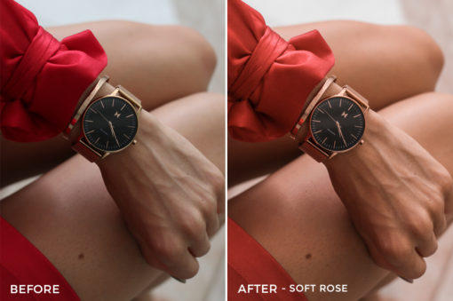 6 Soft Rose- Kim Rose Lightroom Presets - FilterGrade