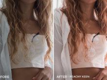 4 Peachy Keen - Kim Rose Lightroom Presets - FilterGrade