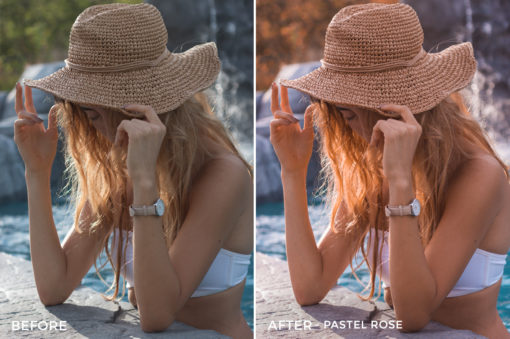 3 Pastel Rose - Kim Rose Lightroom Presets - FilterGrade