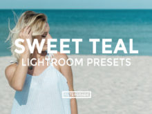 FEATURED - Sweet Teal Blog Lightroom Presets - FilterGrade