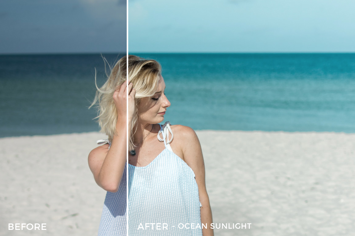 3 Ocean Sunlight - Sweet Teal Blog Lightroom Presets - FilterGrade
