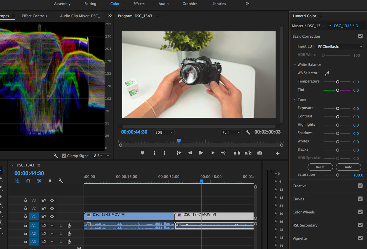 Learn how to use LUTs in Premiere Pro with this step by step tutorial.