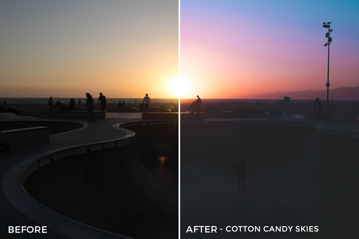 Cotton Candy Skies - Stephanie Saias Lightroom Presets - FilterGrade