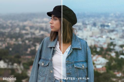 VR Film - Stephanie Saias Lightroom Presets - FilterGrade