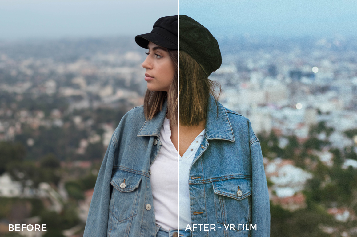 VR Film - Stephanie Saias Lightroom Presets - FilterGrade