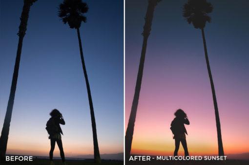 Multicolored Sunset - Stephanie Saias Lightroom Presets - FilterGrade