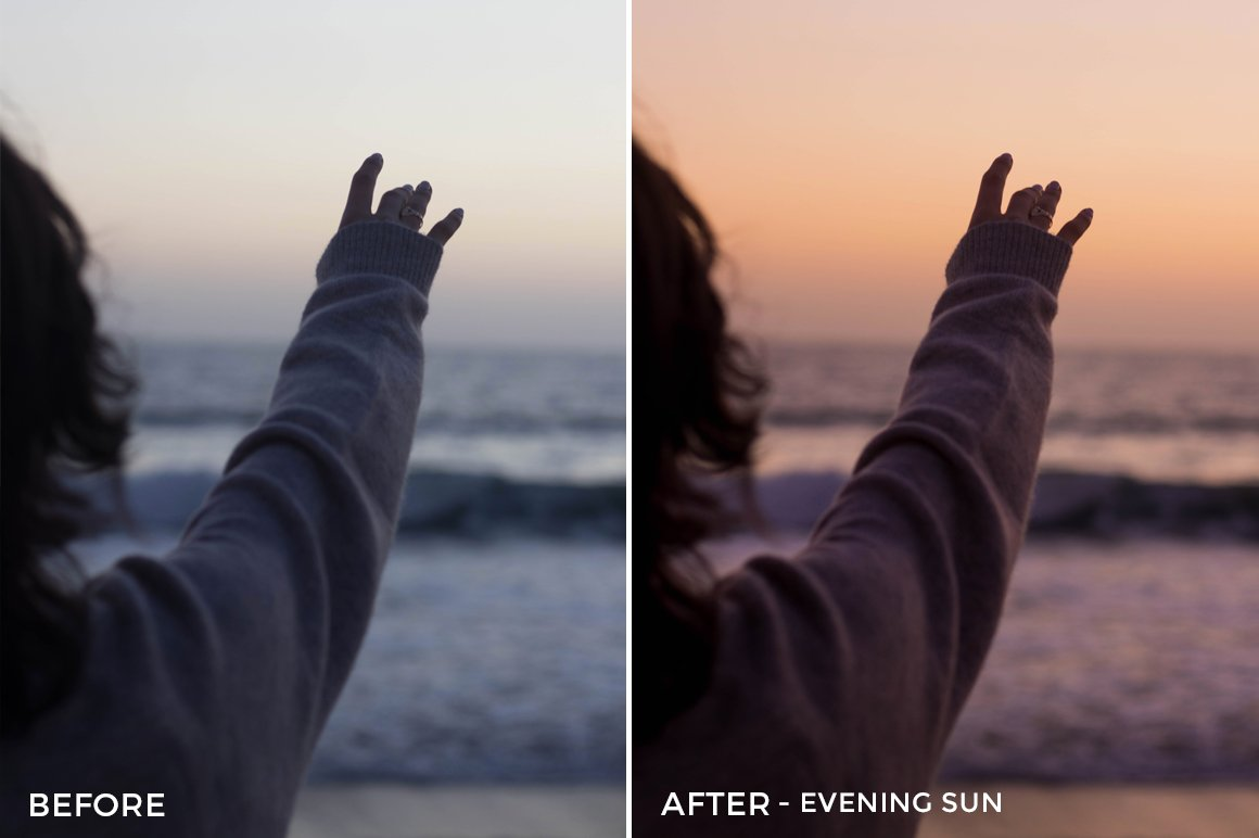 Evening Sun - Stephanie Saias Lightroom Presets - FilterGrade