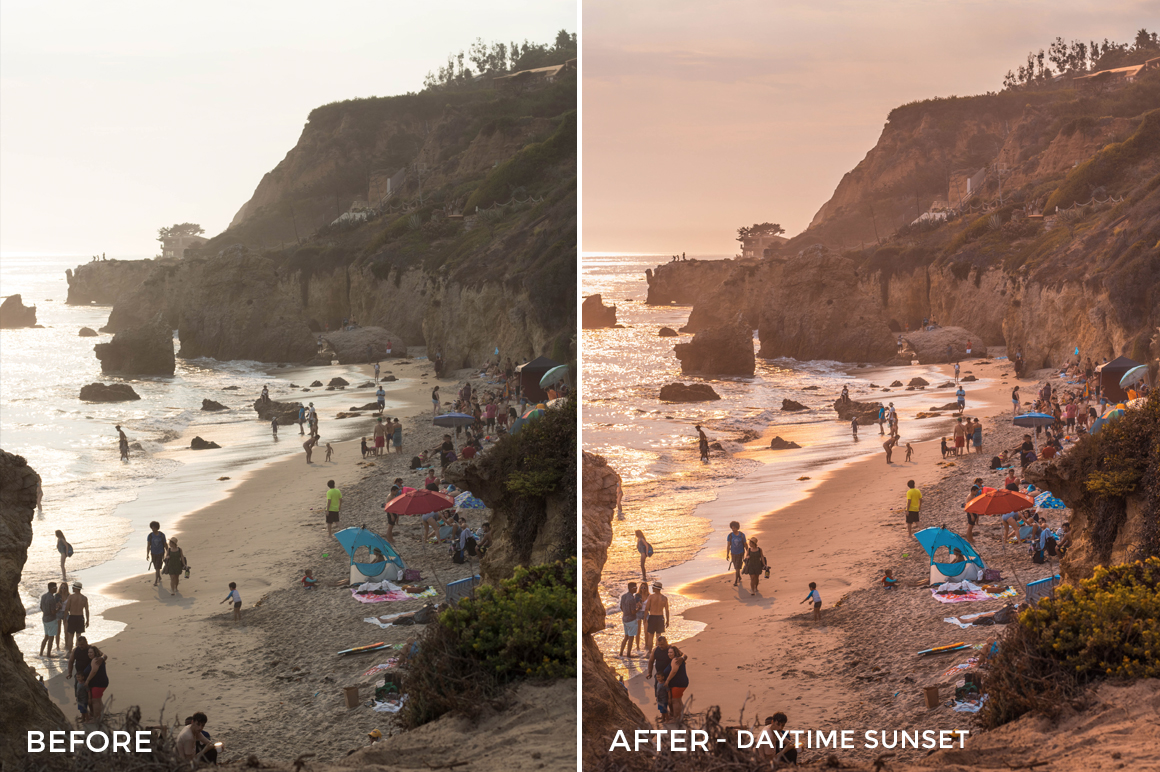 Daytime Sunset - Stephanie Saias Lightroom Presets - FilterGrade
