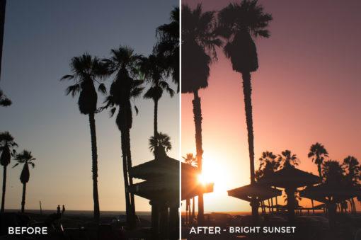 Bright Sunset - Stephanie Saias Lightroom Presets - FilterGrade