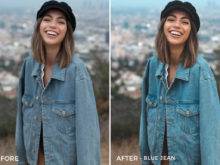 Blue Jean - Stephanie Saias Lightroom Presets - FilterGrade