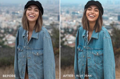 Blue Jean - Stephanie Saias Lightroom Presets - FilterGrade