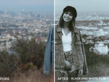 Black and White Film - Stephanie Saias Lightroom Presets - FilterGrade