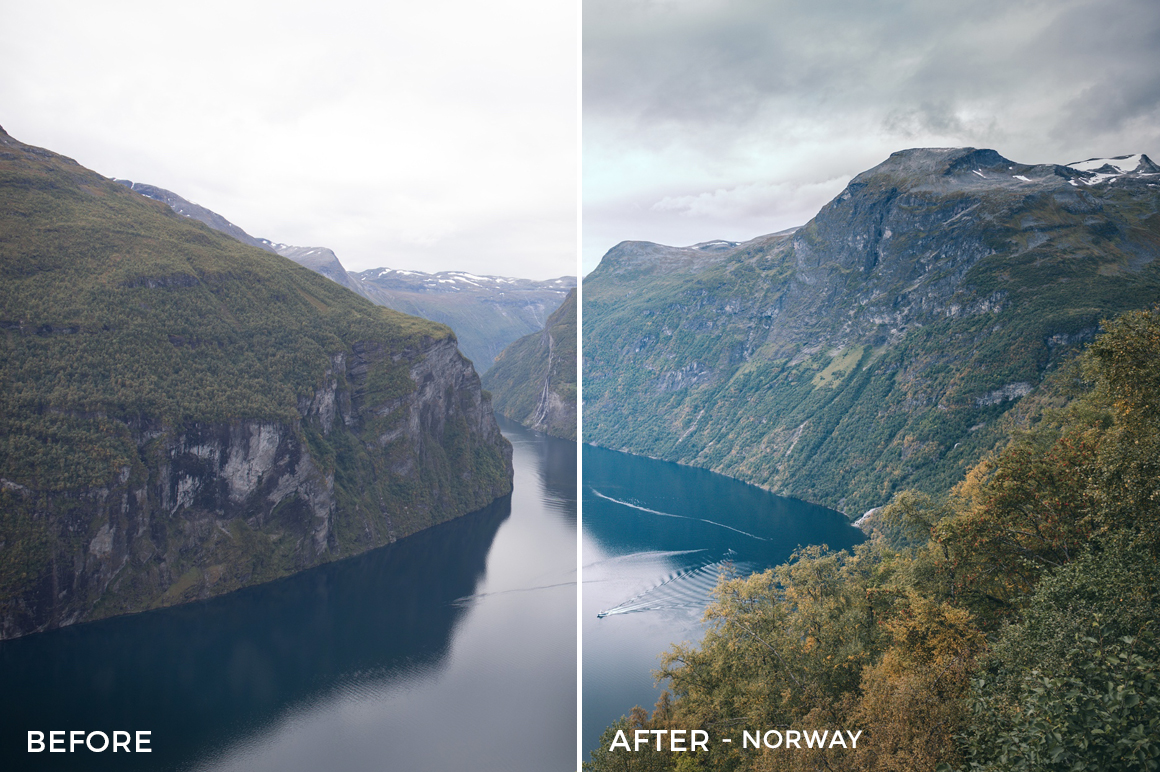 Norway - Tim Reichert Lightroom Presets - FilterGrade