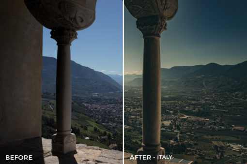 Italy - Tim Reichert Lightroom Presets - FilterGrade