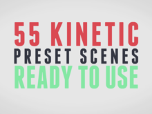 Kinetic Animation After Effects