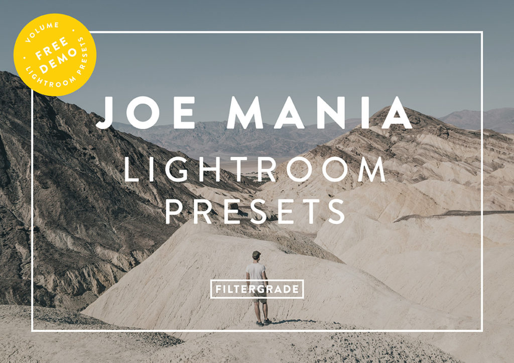 FREE Lightroom Presets - Joe Mania - FilterGrade