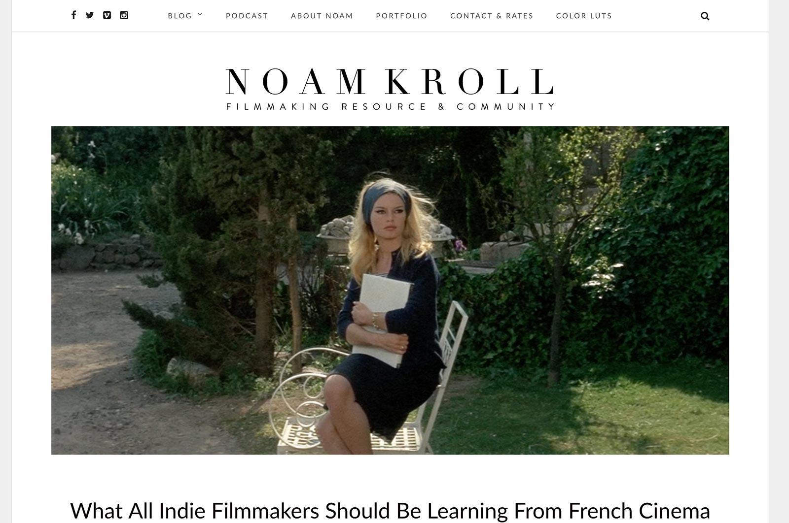 phim noam kroll và blog phân loại màu