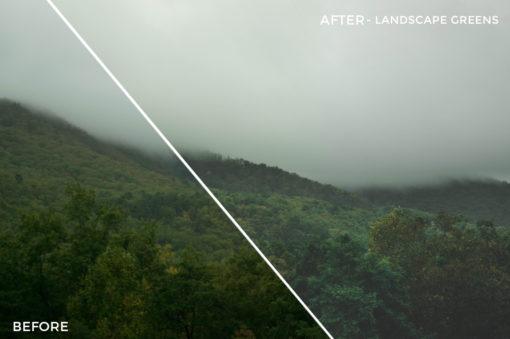 Landscape Greens - Simplctyy Lightroom Presets - FilterGrade