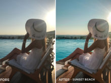 Sunset Beach - Chiara Marie Lightroom Presets - Chiara Steck - FilterGrade