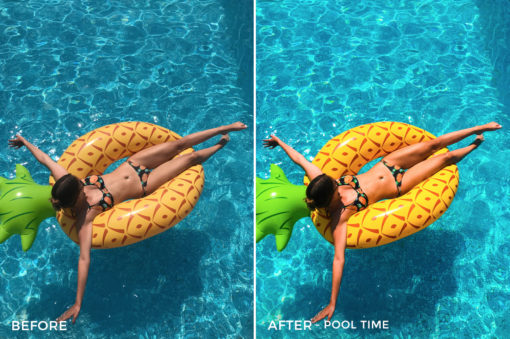 Pool Time - Chiara Marie Lightroom Presets - Chiara Steck - FilterGrade