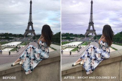 Bright and Colored Sky - Chiara Marie Lightroom Presets - Chiara Steck - FilterGrade