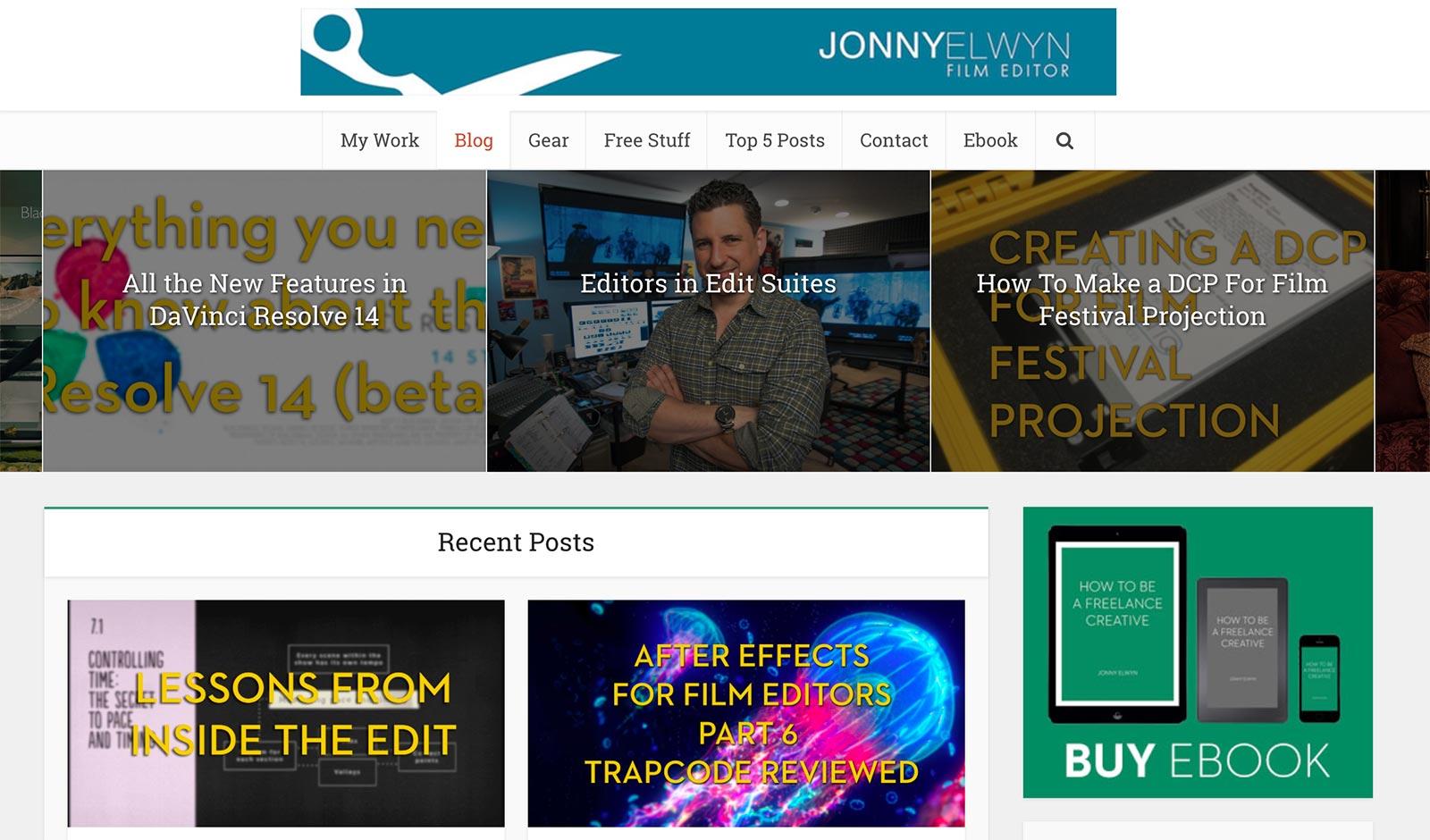 trang web jonny elwyn