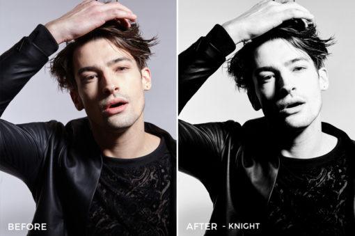 Knight - Editorial Series-B+W-Capture One Styles-FilterGrade